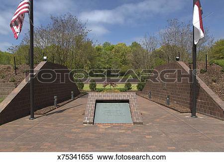 Stock Image of Vietnam Veterans Memorial Park, Thomasville.