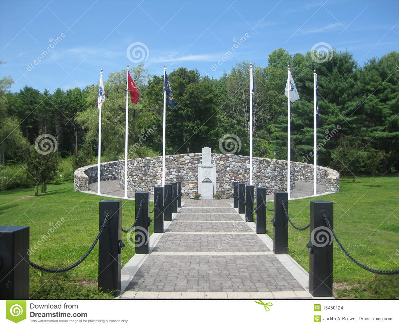 Veterans Memorial Clipart.