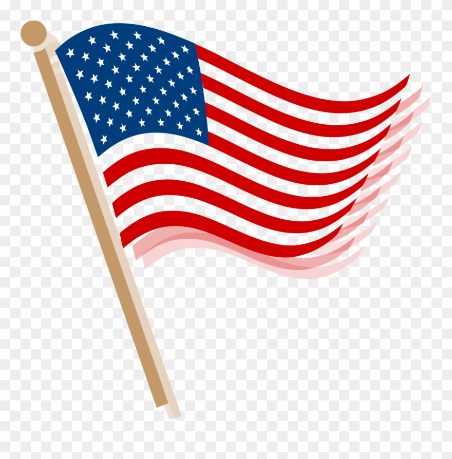 Usa Flag Clip Art Png Picture Library Library.