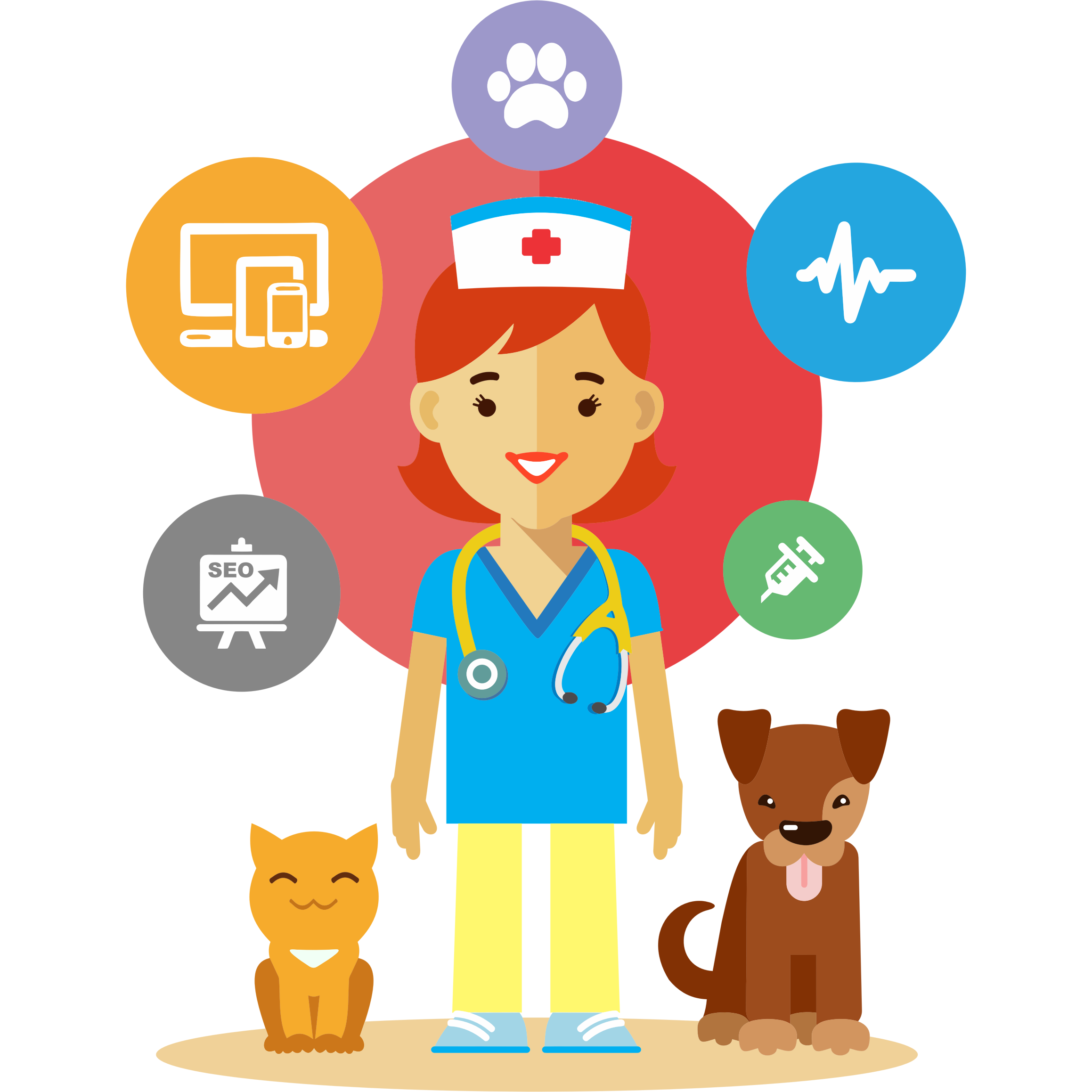 Cartoon veterinary clipart images gallery for free download.