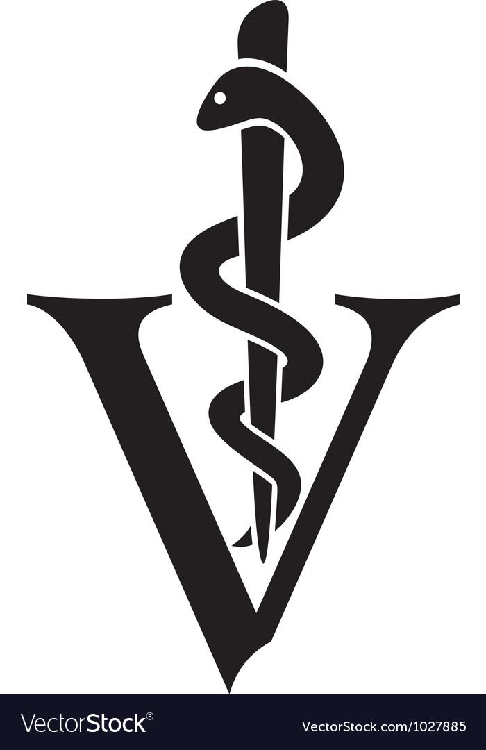 Veterinary symbol.