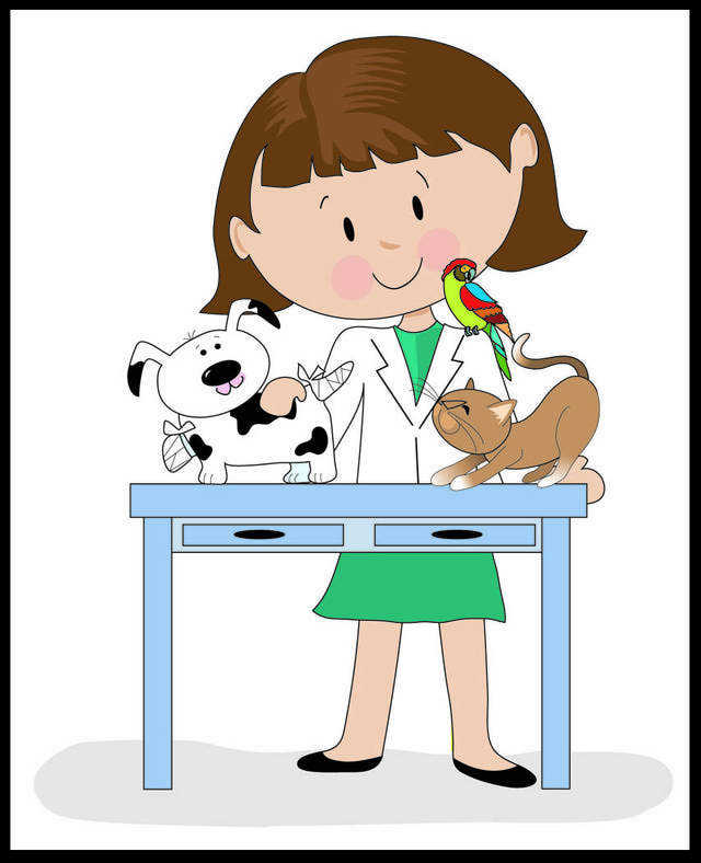 Free Veterinary Clipart Images.
