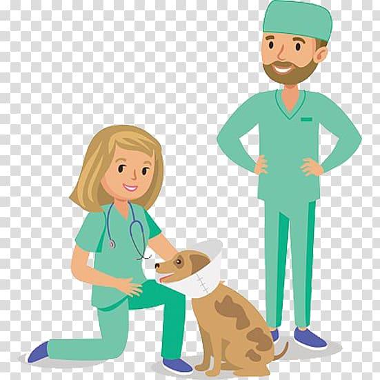 Paws and Claws: Pet Vet Dog Veterinarian Cartoon, Cartoon.