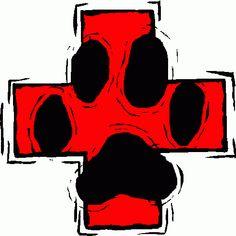 Veterinary Medical Symbol Clipart.