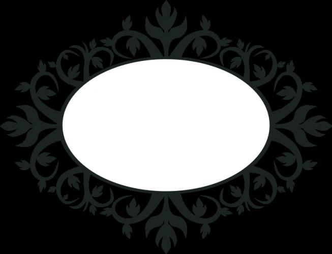 Moldura Oval Vetor Png Vector, Clipart, PSD.