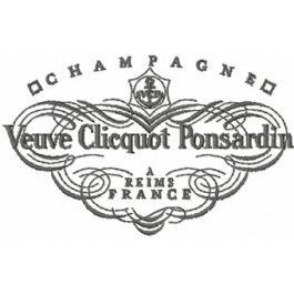 Veuve Clicquot Ponsardin champagne logo.