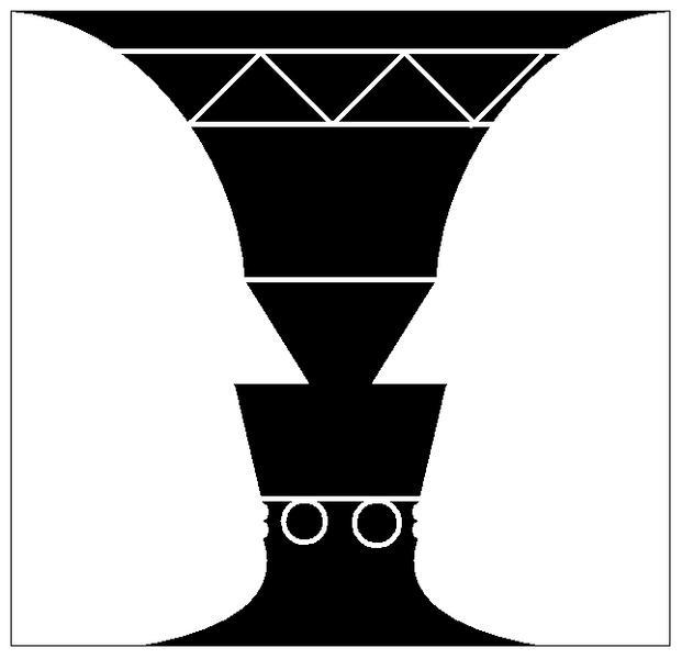 Rubnische Vase von M.C Escher? (Geschichte, Referat, Kunst).