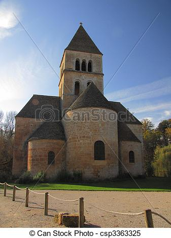 Stock Images of Old Church, Saint.