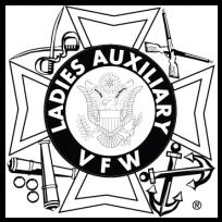 Ladies Auxiliary VFW logo, free vector logos.