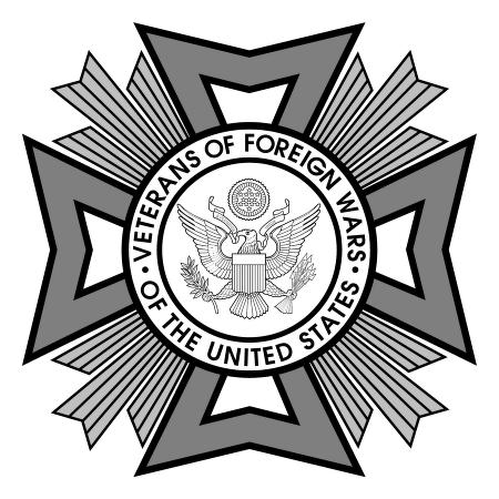 VFW Veterans vector logo.