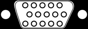 Vga Connector Clip Art at Clker.com.