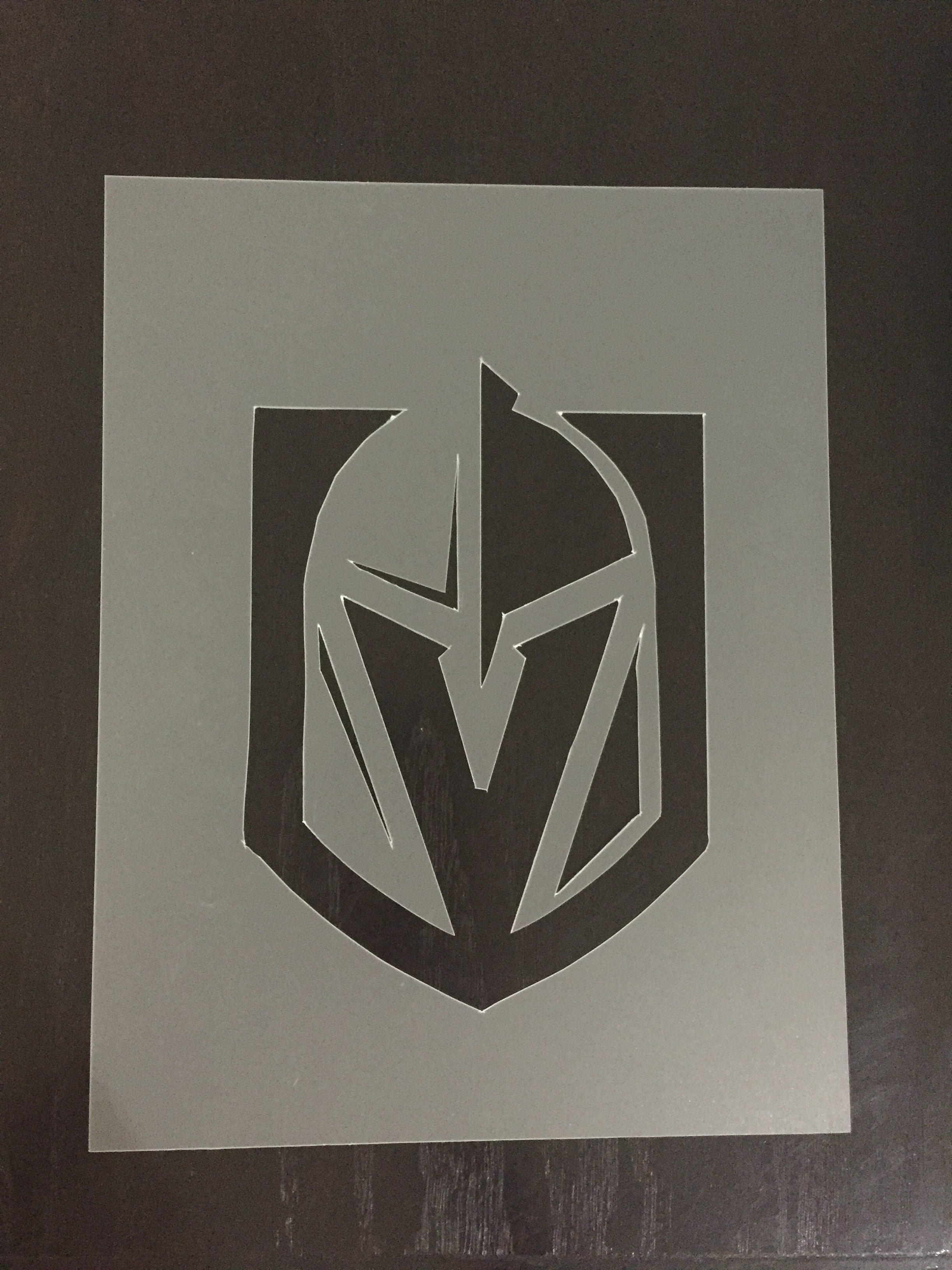 DIY VGK Logo Stencil.