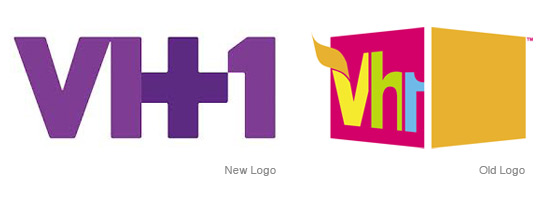 VH1 Sharpens Its Logo.