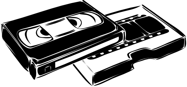 Vhs Cassette Video clip art Free Vector / 4Vector.