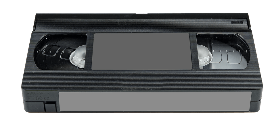 VHS Tape Video transparent PNG.