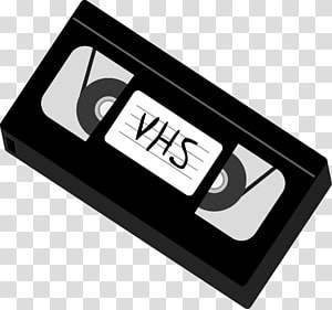 Gray VHS tape, VHS Compact Cassette Magnetic tape Videotape.