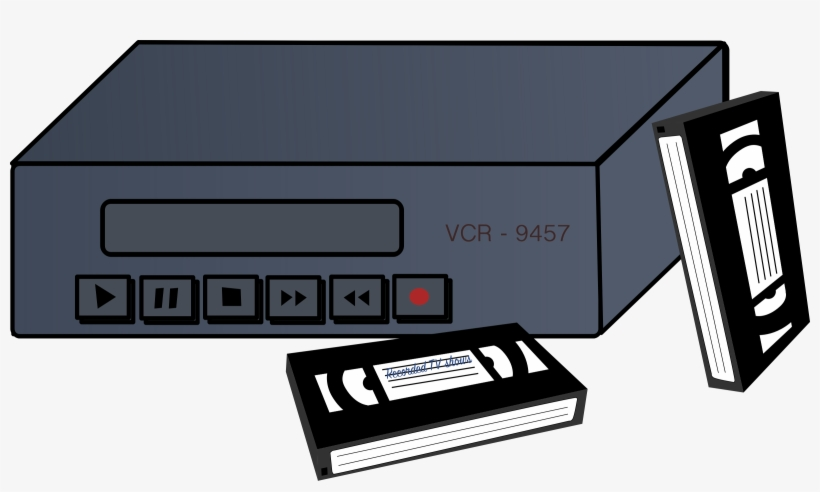 Vcr And Tapes Icons Png.