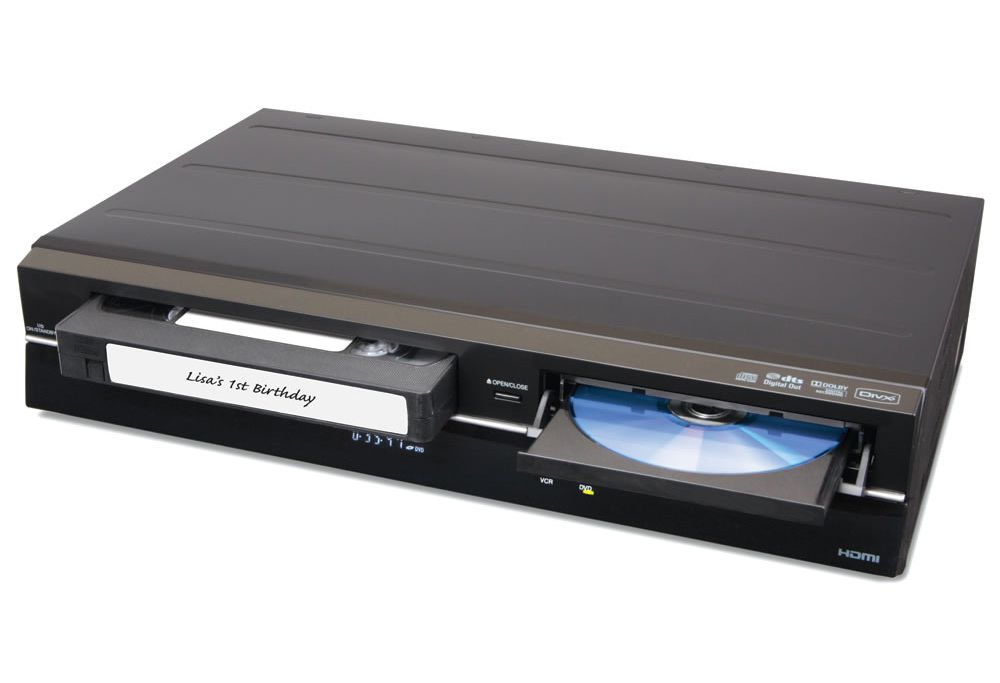 How to convert VHS to digital.