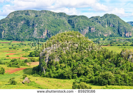 Vector Images, Illustrations and Cliparts: The Vinales valley in.