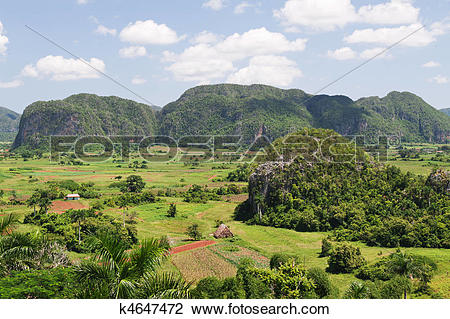 Stock Photo of Vinales valley in Cuba k4647472.
