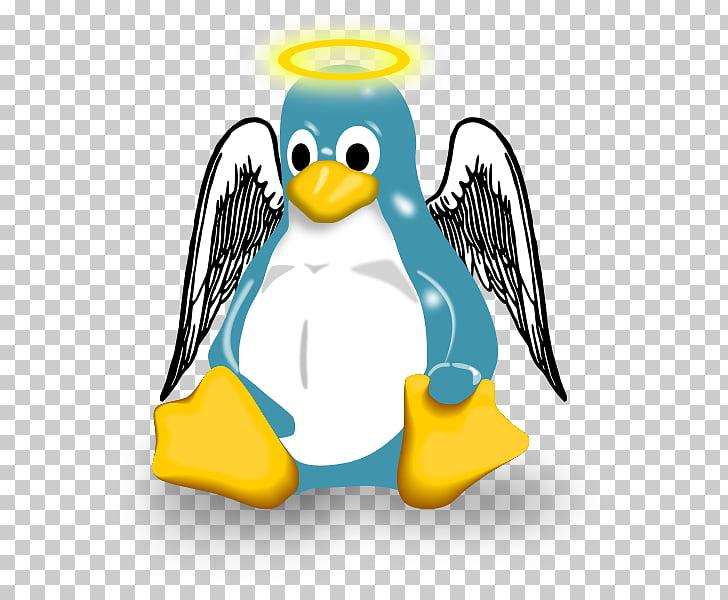 Penguin Linux kernel vi, Penguin PNG clipart.