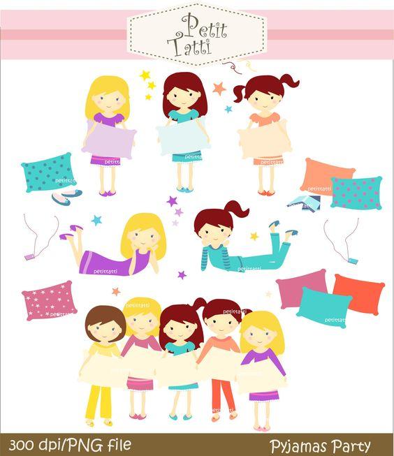 girls clip art.