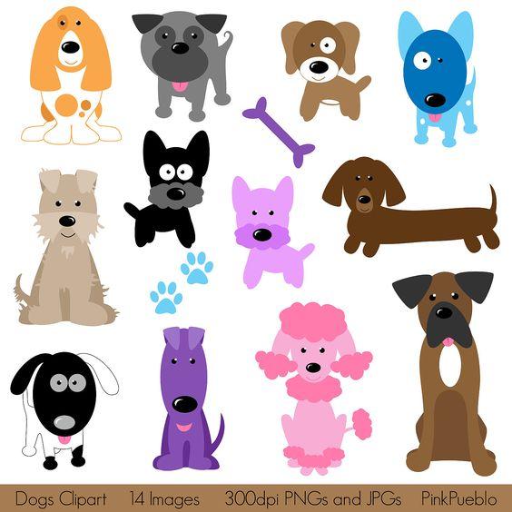 Dog Clipart Clip Art, Puppy Clipart Clip Art Vectors.