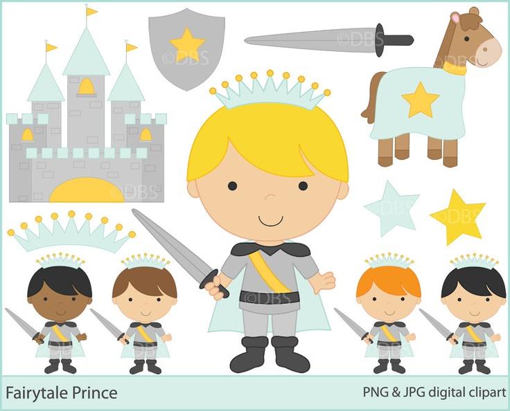 Prince Clipart Clip Art Digital Fairytale Prince Clipart 5 00 Via.