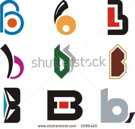 Alphabetical Logo Design Concepts. Letter B. Check my.