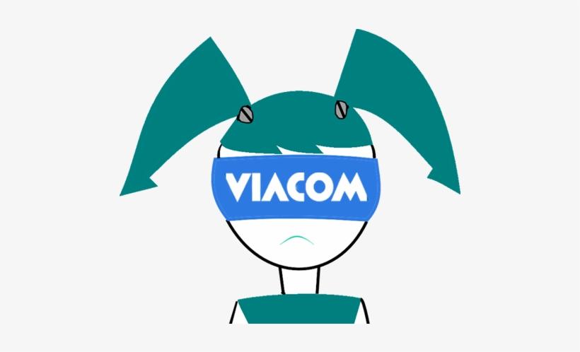 Viacom Green Clip Art Logo.