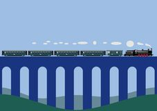 Viaduct Stock Illustrations.