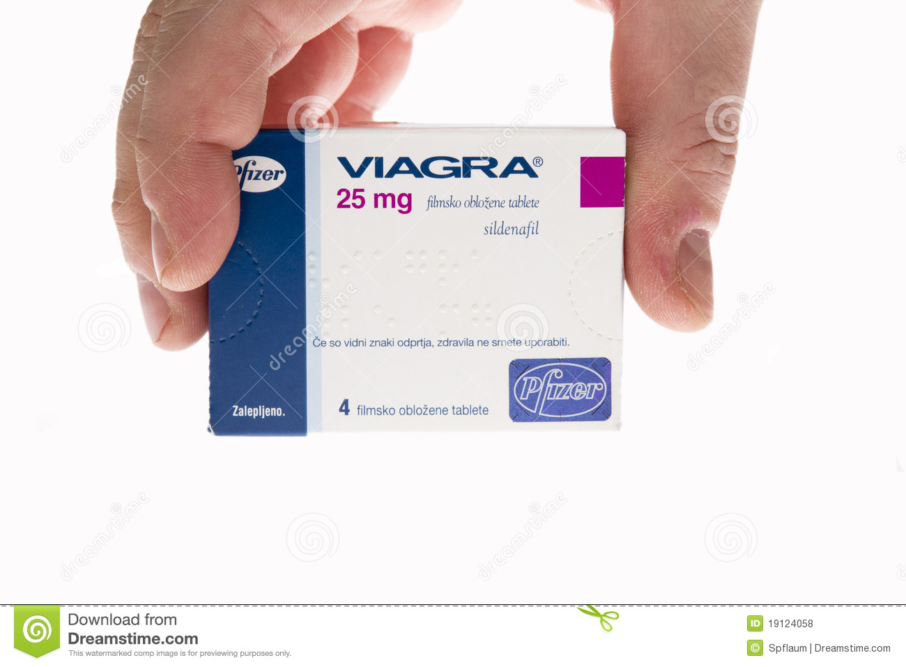 Viagra Pills Tablets Isolated On White Editorial Stock Photo.