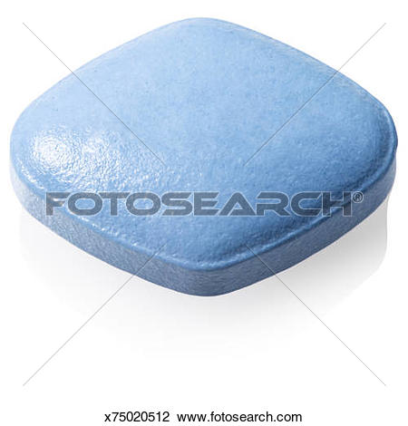 Stock Photo of Single viagra/cialis tablet x75020512.