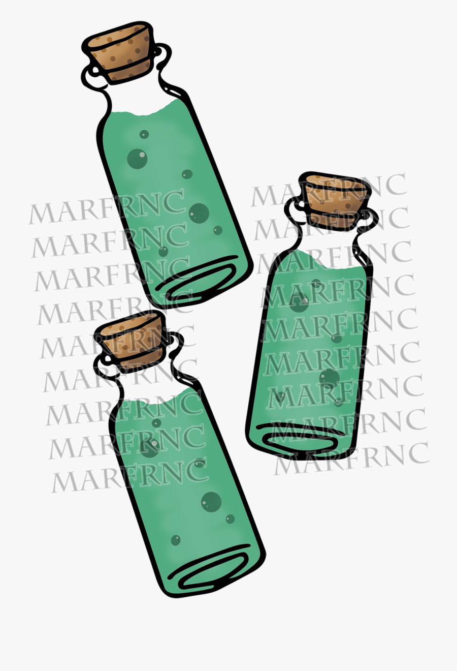 Banner Black And White Poison Vial Clipart , Png Download.