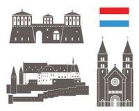 Vianden Stock Illustrations.