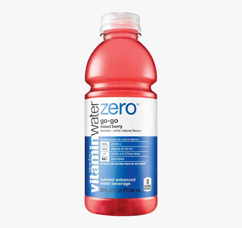 Vitamin Water Zero Orange.