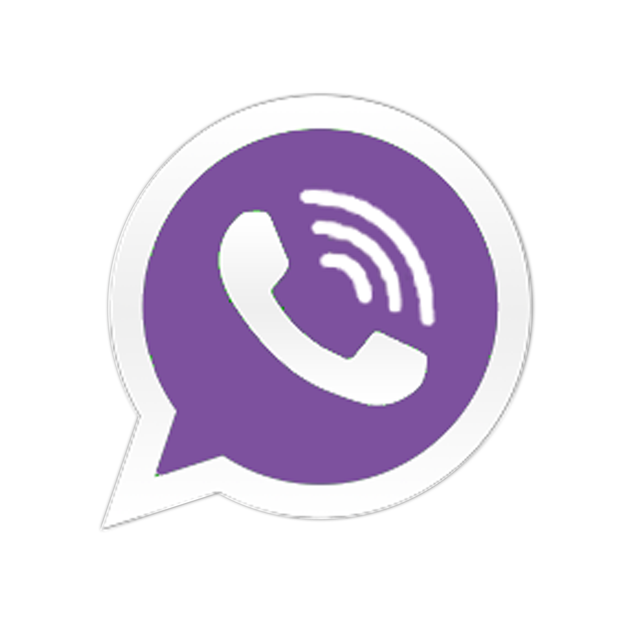 Messaging Viber Logo Purple Photo #48160.