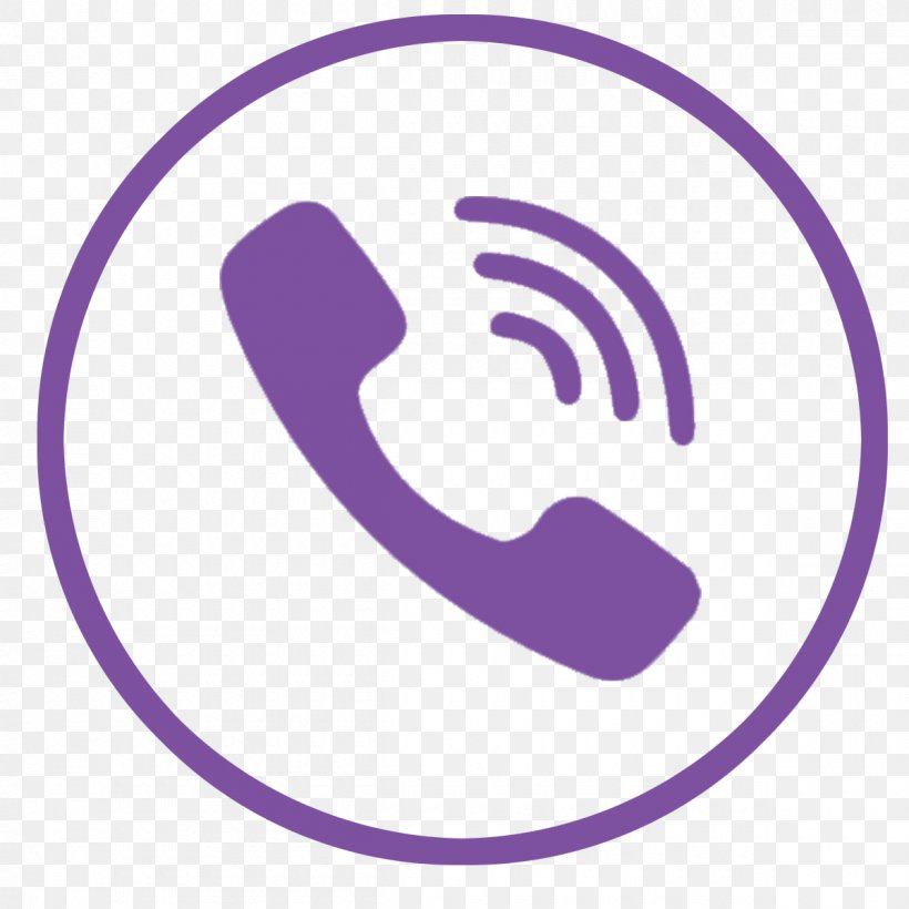 Vector Graphics Viber Logo Telephone Call, PNG, 1200x1200px.