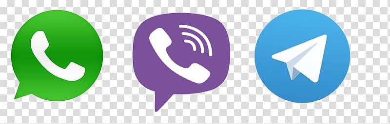 Whatsapp and Viber logo, WhatsApp Viber BlackBerry Messenger.