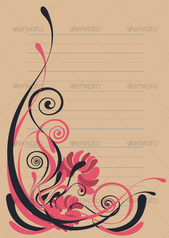Floral background in vibrant beautiful shades.