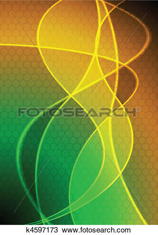 Clipart of Beautiful vibrant background k4597173.