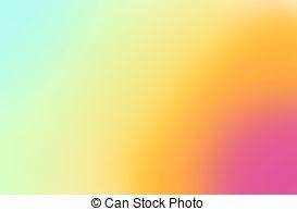 Vibrant colors clipart.