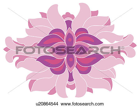 Drawings of Classical floral pattern with vibrant color u20864544.