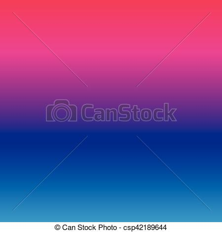 EPS Vector of Gradient vibrant color smooth silk background with.