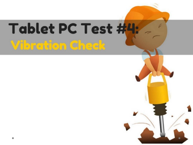 Top 5 Tests for Tablet PCs.