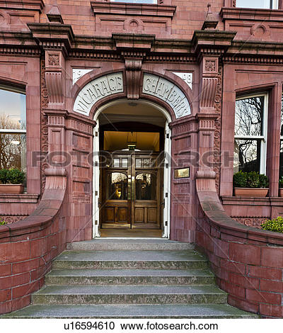 Stock Photography of England, West Yorkshire, Leeds. Entrance to.