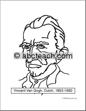 Gogh Clip Art.