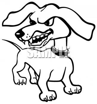Vicious Animal Clipart.