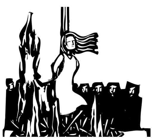 The Salem Witch Trials Targeted Women.
