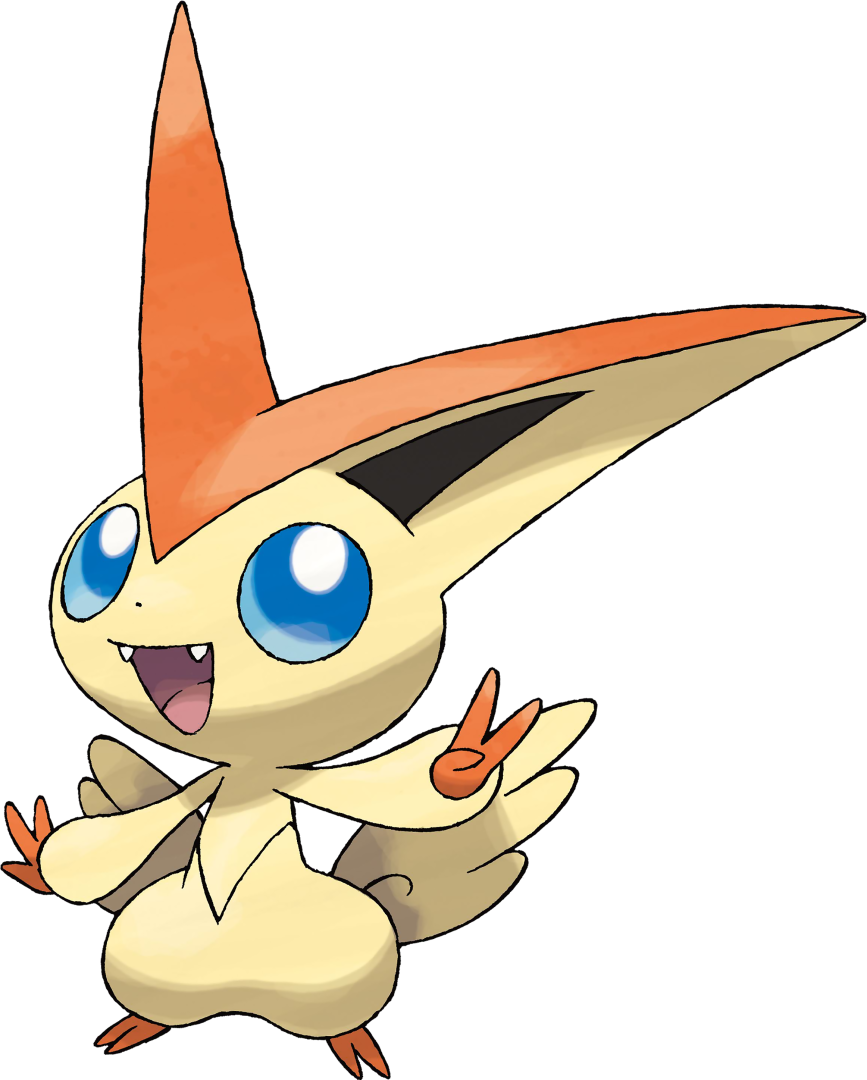 Victini screenshots, images and pictures.